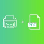 Print / PDF output
